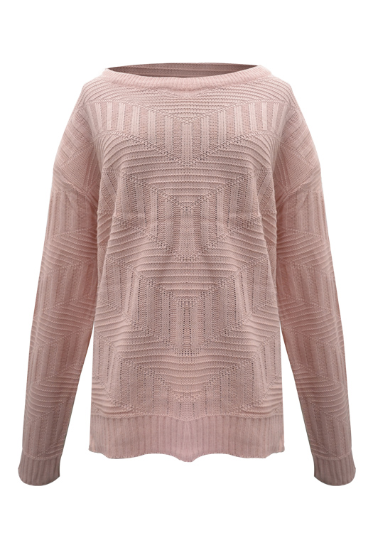 Sweater Con V Y Rombos